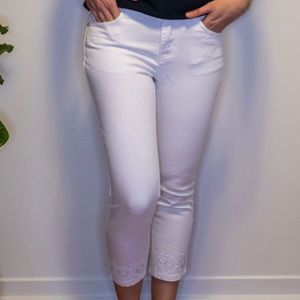 Laura Petites White Jeans